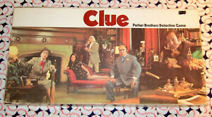 Clue Classic Detective Board Game Replacement Parts & Pieces 1972 Parker Bros