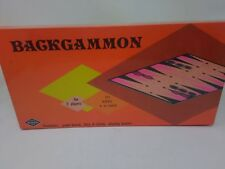 Backgammon Game Warren Paper Products Company no.755 Sealed VTG