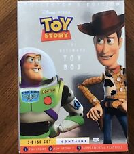 Toy Story/Toy Story 2 (3-Disc Ultimate Toy Box Dvd) W/Inserts And Slip Case