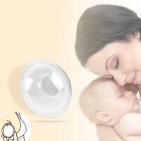 US 2-4Pcs Silicone Breast Shells Milk Saver Collector Nursing Breastfeeding Cups