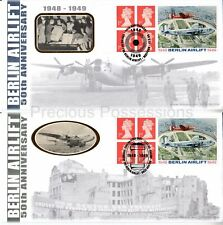 BLCS156-156B BENHAM 1999 FIRST DAY COVERS FDC BERLIN AIRLIFT BOOKLET LABELS