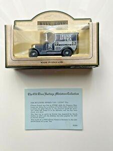 Days Gone Vintage Models: 1926 Bull-Nose Morris Van: Lyons Tea