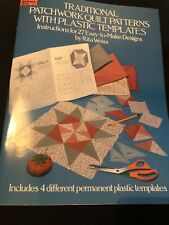 Traditional Patchwork Quilt Patterns With Plastic Templates Book