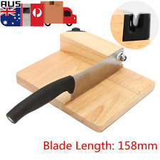 220x180x60mm Biltong Cutter Jerky Slicer Knife Slicer With Cutting Board New