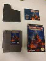 Nintendo Nes Iron Sword Wizards And Warriors 2 video game CIB
