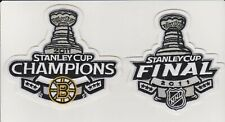 Boston Bruins 2011 Stanley Cup And Stanley Cup Champions Jersey patch Combo