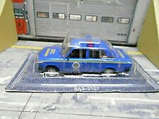LADA VAZ 2107 BA3 Moskau Russland Police Polizei IXO Atlas de Agostini SP 1:43