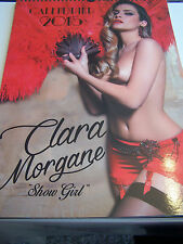 CALENDRIER CLARA MORGANE  , EROTIQUE , SEXY , SHOW GIRL . 20 POSTERS NUDES .