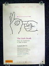 THE LITTLE DEATH Original 2015 OS Movie Poster Bojana Novakovic, Josh Lawson