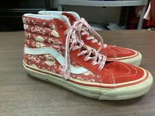 Vans 50th Anniversary SK8 STV Red/White/Pirate Skull Christmas Shoes - Size 9.5