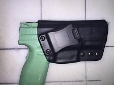 "IWB Holster - XD 4"" SERVICE MODEL 9/40/45 - 15 Deg Cant"