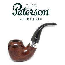 NEW Peterson - Sherlock Holmes Baskerville Smooth P Lip - 9mm Filter Pipe