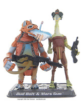 STAR WARS Saga Collection Dud Bolt & Mars Guo Action Figure