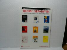 Broadway Showstoppers - Songbook For The Flute - Hal Leonard - Mint 45 Hits