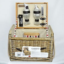 Picnic Time 'Kabrio' Picnic Basket with Wine and Cheese Service for Two