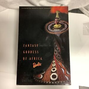 BOB MACKIE FANTASY GODDESS OF AFRICA 2ND DOLL IN THE BEAUTY COLLECTION NIB