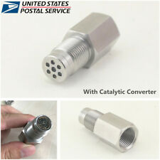 1Pcs O2 Sensor Bungs Catalytic Converter Car Engine Light CEL Check Adapter -USA