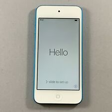 New Other iPod 5 5th Gen Touch 32GB White Blue Wifi MP3 Audio Music Tested