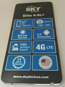 Sky Device Elite 6.0L+ OEM LCD  Touch Screen Digitizer Replacement