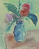 Signiert datiert 38 - Blumenstillleben
