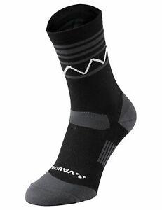 Vaude Bike Socken Bikesocken Bike Socks Mid in black Gr:  45 - 47