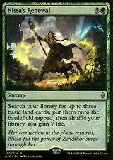 Nissa 's Renewal foil | nm | versiones preliminares promos | Magic mtg