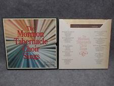 The Mormon Tabernacle Choir Sings (5) Record Box Set 33 LP RDA 093-A 1973
