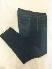 (*.*) MAURICES * Womens Stretch Skinny Blue Jeans / Denim * Size 20 Reg