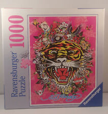 RAVENSBURGER 1000 piece puzzle--ED HARDY--TATTOO ART--NEW!  Great puzzle!