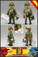 Playmobil Custom GENERAL FRANCISCO FRANCO Guerra Civil War SOLDADO EJERCITO WW2