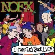 NOFX I heard they suck live!  [CD]