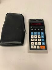 TEXAS INSTRUMENTS TI-2550 LED ELECTRONIC CALCULATOR tested