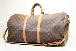 Auth Pre-owned Louis Vuitton Monogram Keepall Bandouliere 55 2-Way M41414 210319