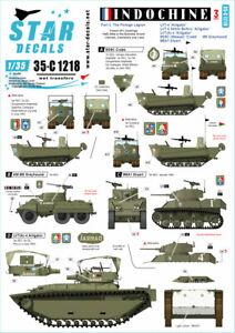 Star Decal 35-C1218 Indochine # 3. The Foreign Legion - Regiment Etranger , 1/35
