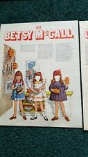 Betsy McCall Cookbook Paper Doll And Recipes