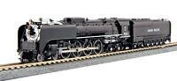KATO  1260401 N SCALE FEF-3 4-8-4 Steam Loco W tender Union Pacific 844 126-0401