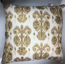 NWT Kim Seybert Living Embellished Beaded 20x20 Throw Pillow