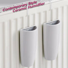 2 x Ceramic Radiator Hanging Humidifiers Indoor Home Air Water Humidity Control