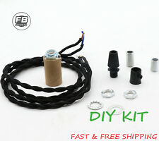Glass Insulator Pendant Light Kit -DIY Insulator Lighting Kit Lamp Parts Kit