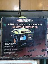 Generatore Inverter 1200W 4T solo prima accensione mai lavorato