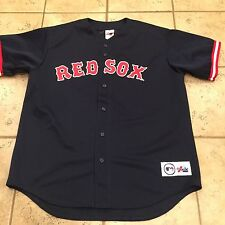 Vintage Boston Red Sox Jersey Garciaparra #5 Majestic Pro Players MLB Collection