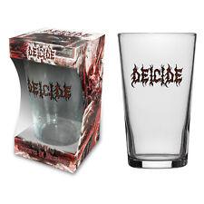 DEICIDE BIERGLAS BEER GLASS # 1 LEGION LOGO PINT 570 ml