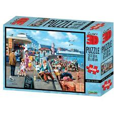 Beside The Seaside Kevin Walsh Nostalgia Collection Super 3D Puzzles 500 Pieces