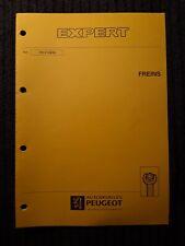 (306MB) Manuel d'atelier PEUGEOT EXPERT - Freins.