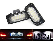 2x No Error for Mercedes License Plate LED Light W203 C230 C240 C280 C32 C55 AMG