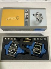 Crank Brothers Candy C 4-sided pedal w/2-sided platform Blue Excellent Condition