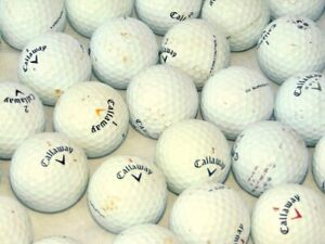 40 x Callaway Grade B Golf Balls Very Playable Condition