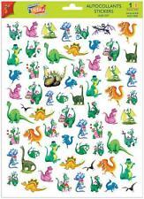 A4 Sticker Sheet Comical Dragons & Dinosaurs- Scrapbooking & Cardmaking 60 image