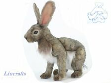 Sitting  Jack Rabbit / Hare Plush Soft Toy by Hansa  5304