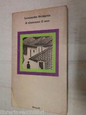 A CIASCUNO IL SUO Leonardo Sciascia Einaudi Nuovi coralli 9 1977 libro romanzo